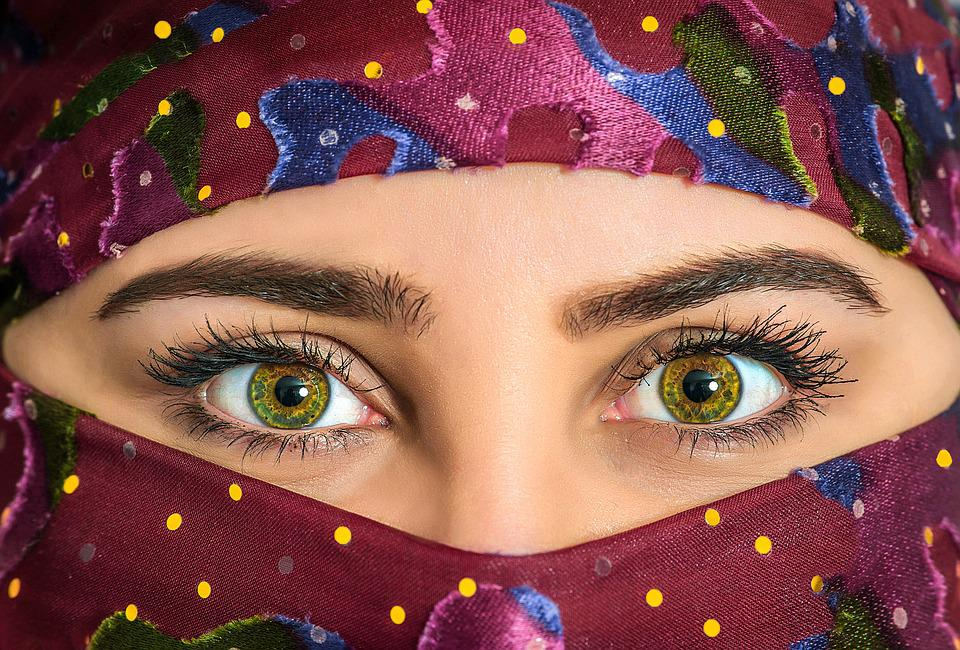 Woman, Headscarf, Exotic, Beautiful, Scarf, Traditional