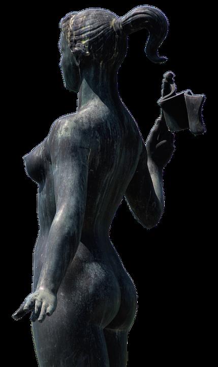 Woman, Statue, Naked, Breast, Bosom, Sculpture, Figure