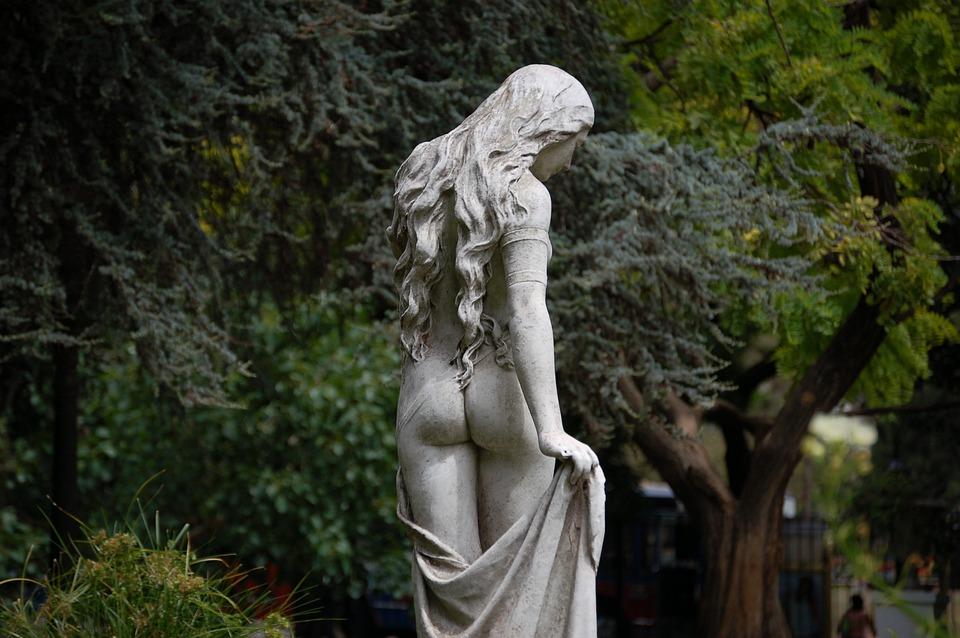 Woman, Statue, Architecture, People, Culture