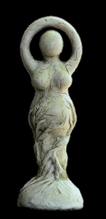 Statue, Goddess, Sculpture, Woman, Mythology, Symbol