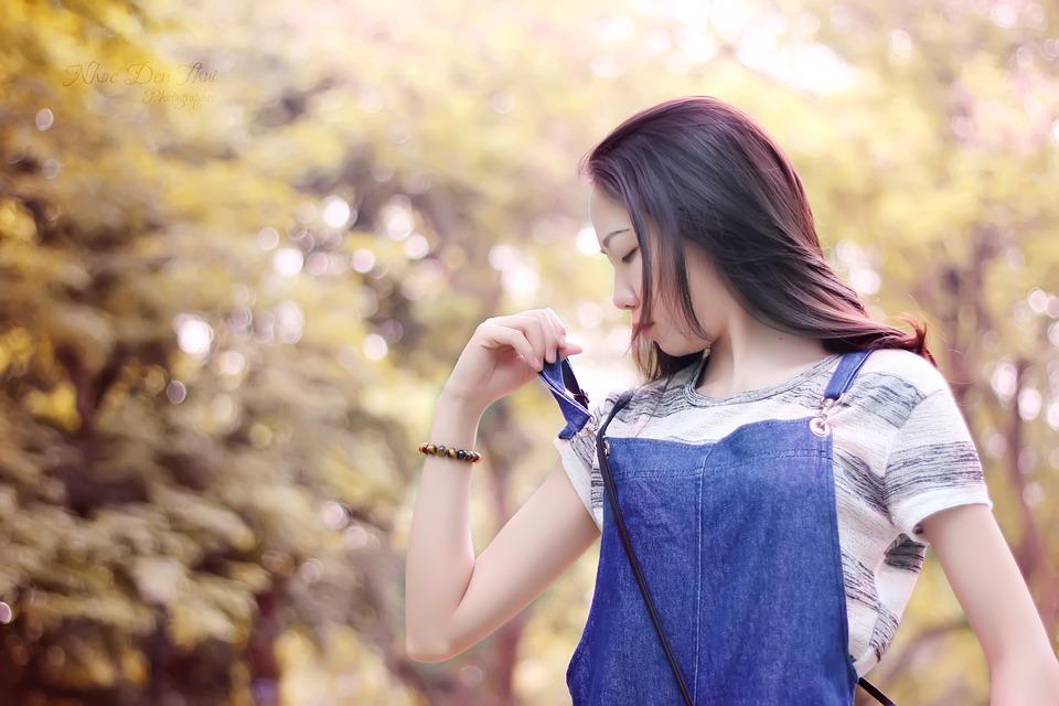 Reverse Sunny Blend, Sunny Colors Blend, Woman