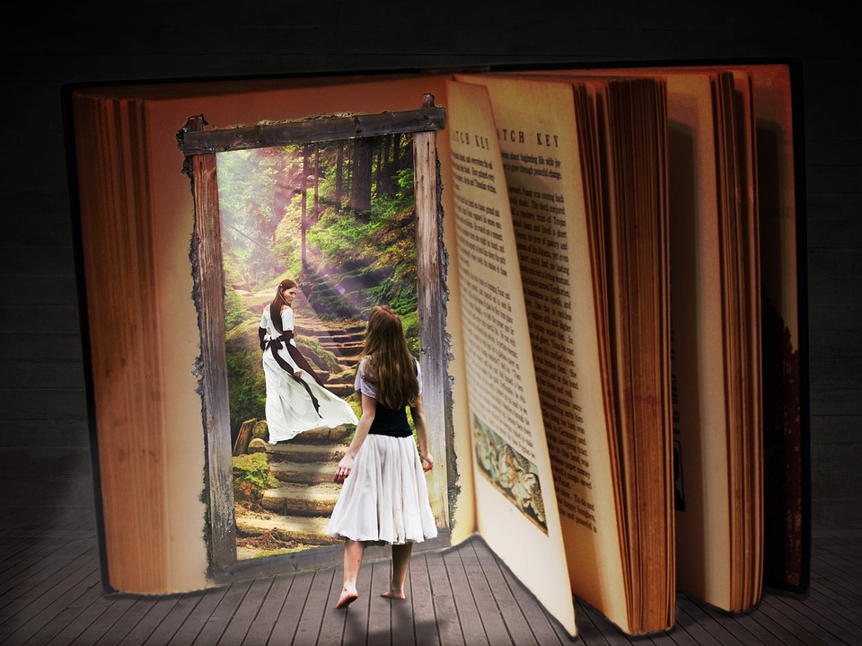 Book, Dream, Travel, Fantasy, Woman, Goal, Fairy Tales