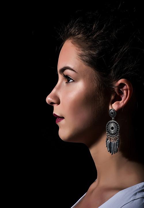 Portrait, Girl, Facial, Young, Beauty, Woman, Watch