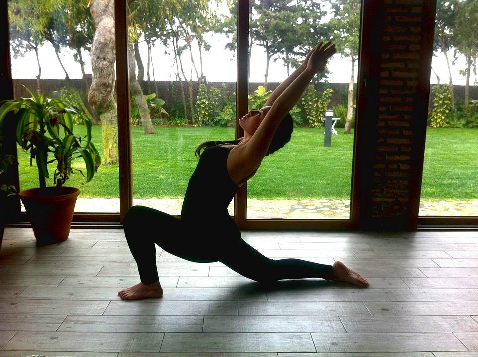Yoga, Practice, Woman, Health, Meditation, Training