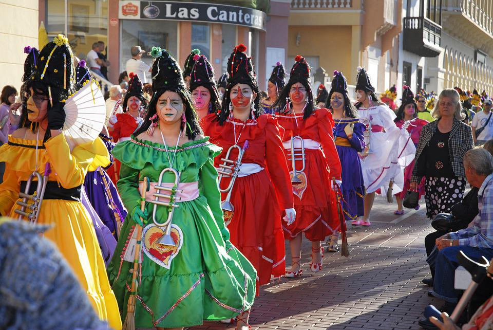 Carnival, People, Women, Masquerade, Headdress, Glitter