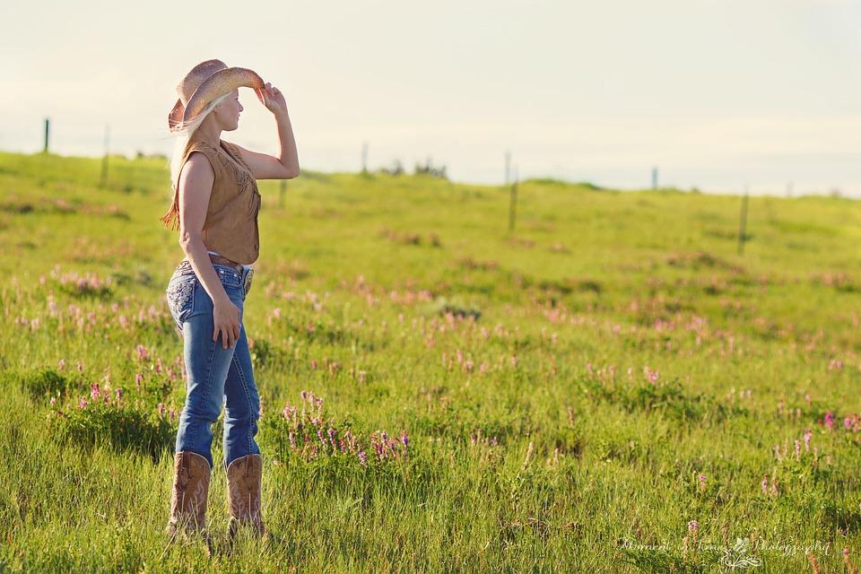 Country, Girl, Women, Summer, Portrait