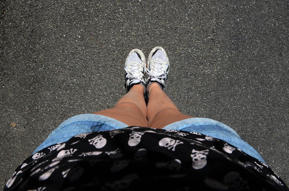 Feet, Body, Women, Girl