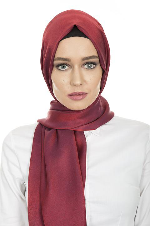 Hijab, Head Cover, Hair, Scarf, Women's, Long Hair