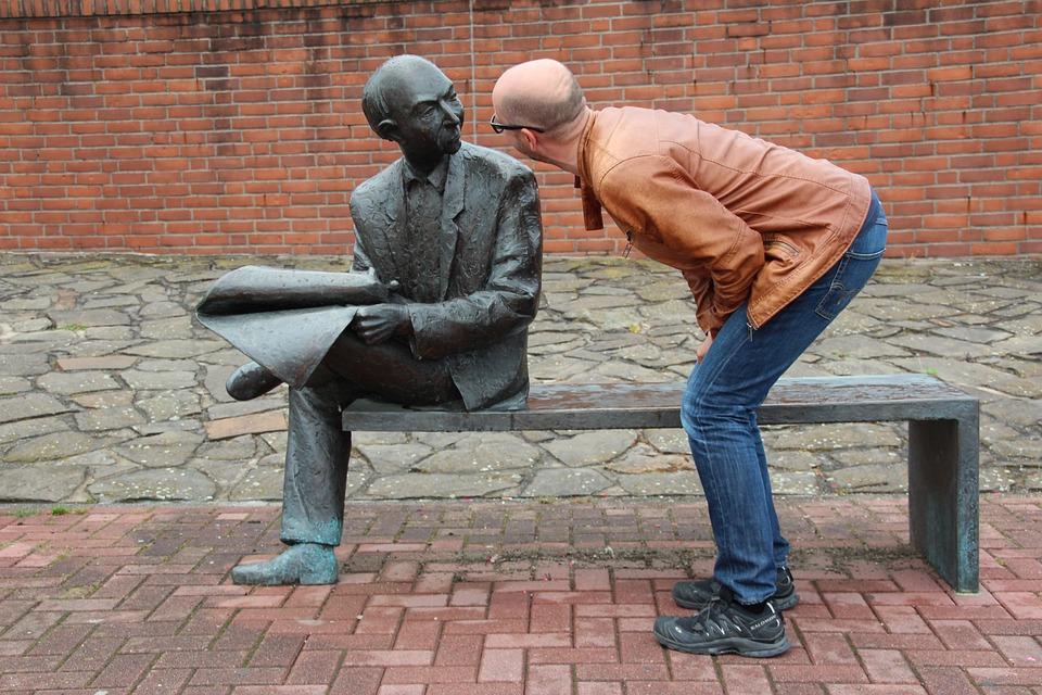 Man, Sculpture, Art, Wonders, Talk, Figures, Statue