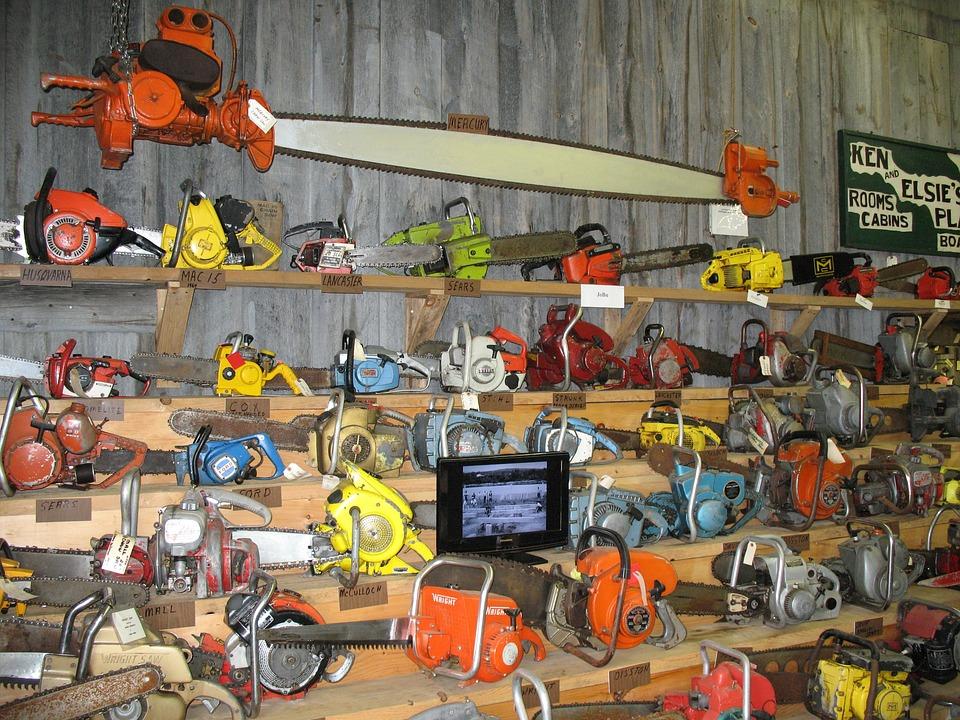 Chainsaw, Antique, Tool, Blade, Sharp, Wood, Retro, Cut