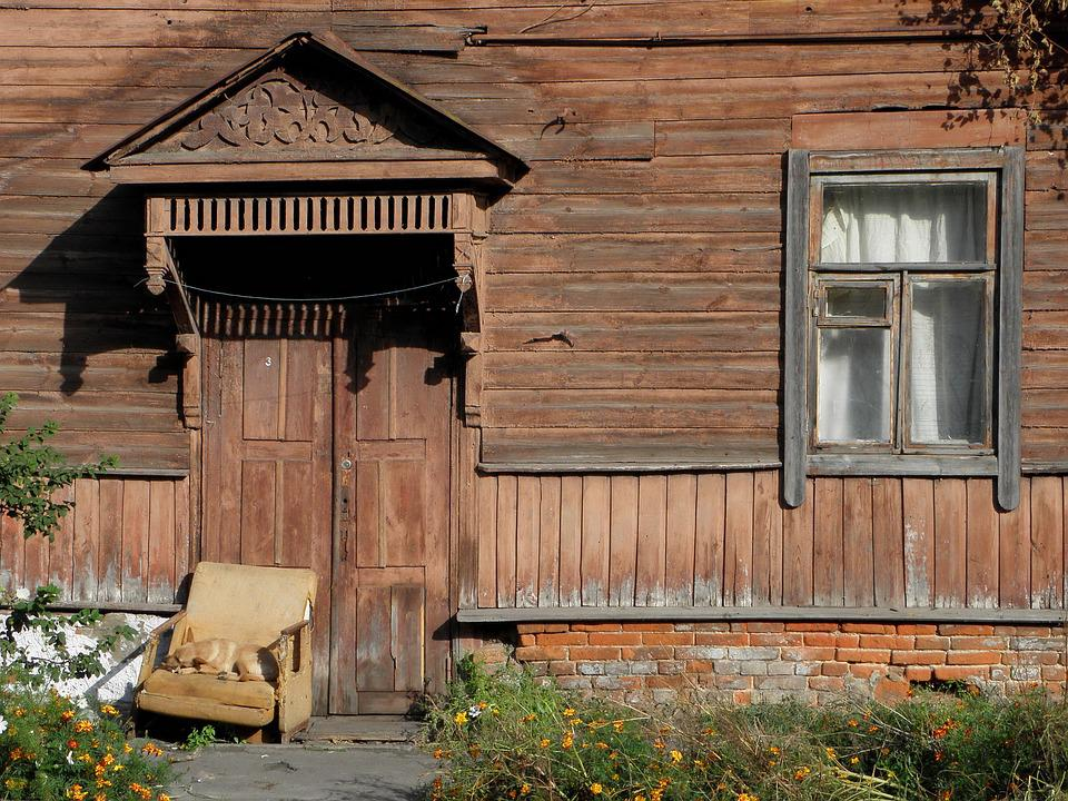 House, Wood, Architecture, Door, Rustic