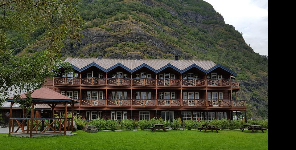 Building, Wood, Norway, Architecture, Truss