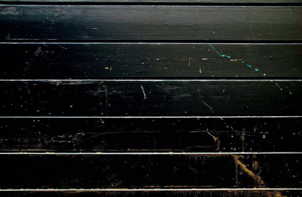 Wood, Structure, Black, Scratches, Planking, Fence