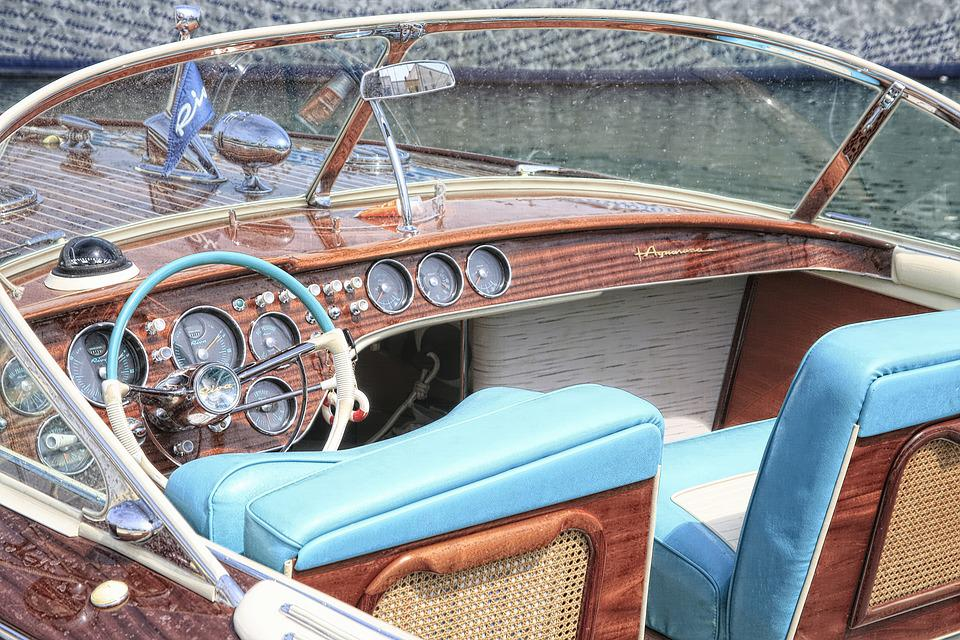 Free photo Wood Blue Water Boat Wood Material Old Boat - Max Pixel