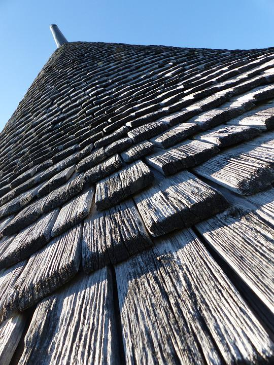 Tavaillon, Roofing, Conical, Wood, Cooler, Roof