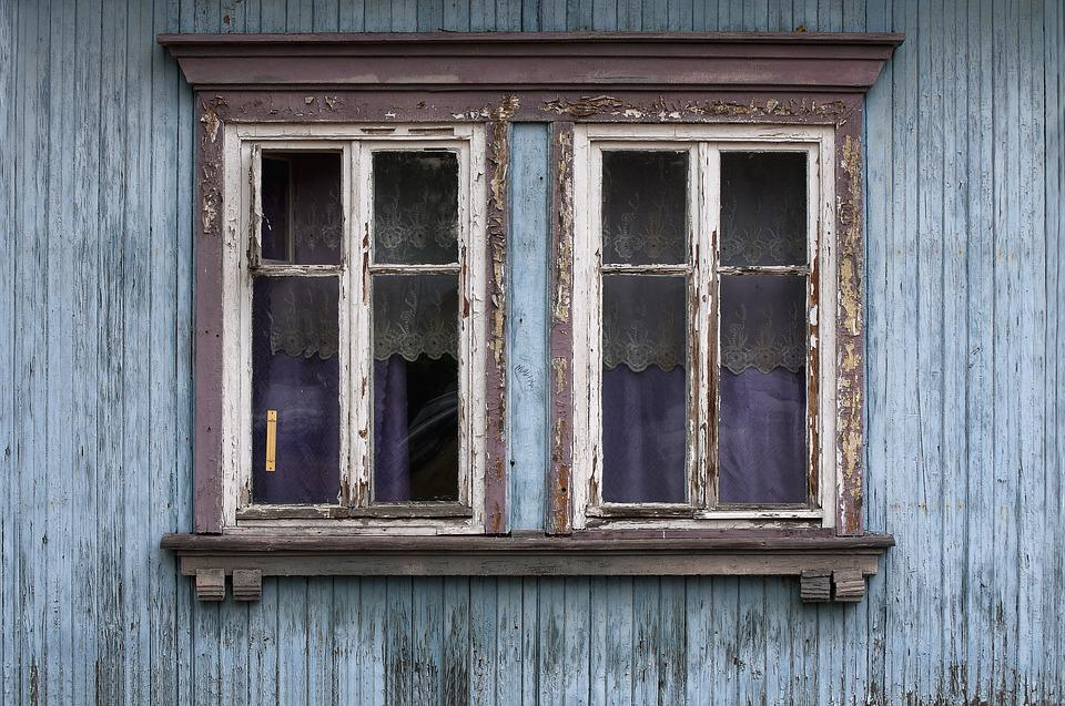 Window, Old Window, Wood Constructions, Architecture