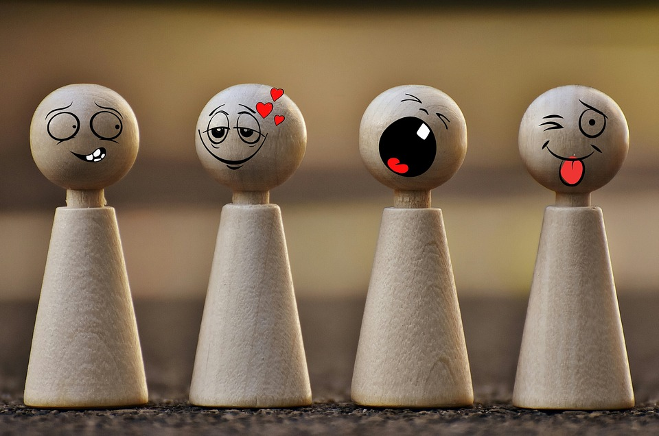 Game Characters, Smilies, Funny, Toys, Fig, Wood, Play