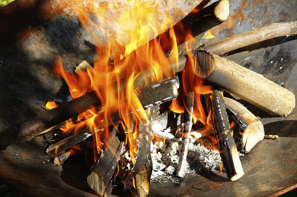 Fire, Wood, Heat, Flame, Burn, Grill
