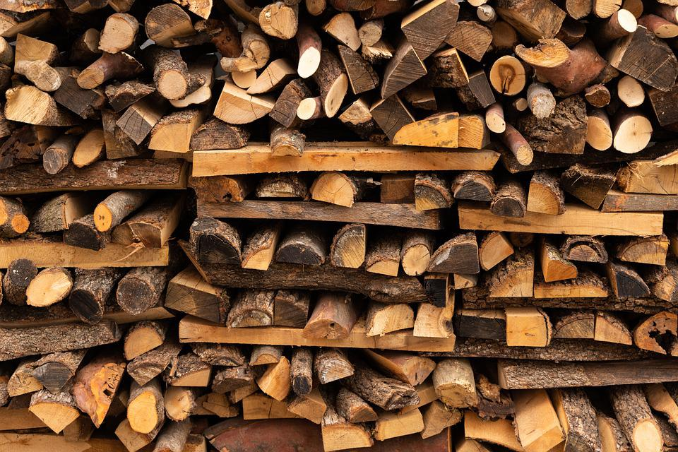 Wood, Logs, Bole, Firewood, Pieces Of Timber, Woodpile