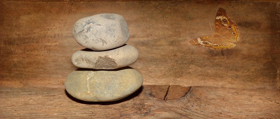 Wood, Wood Floor, Old, Stones, Stone Tower, Balance