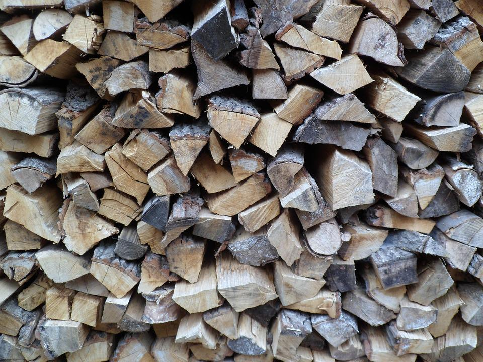 Firewood, Wood, Garden, Combs Thread Cutting