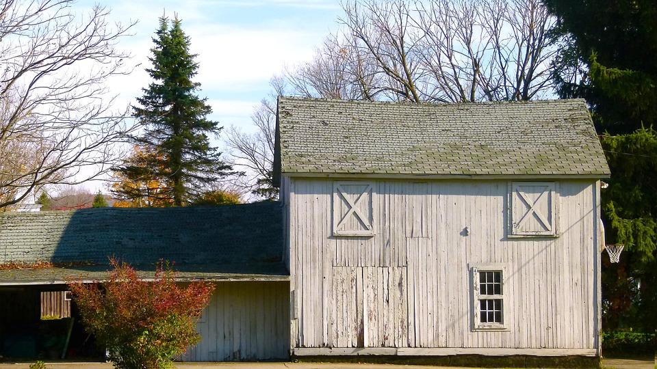 Wood, House, Historical, Barn, Abandoned, Rustic