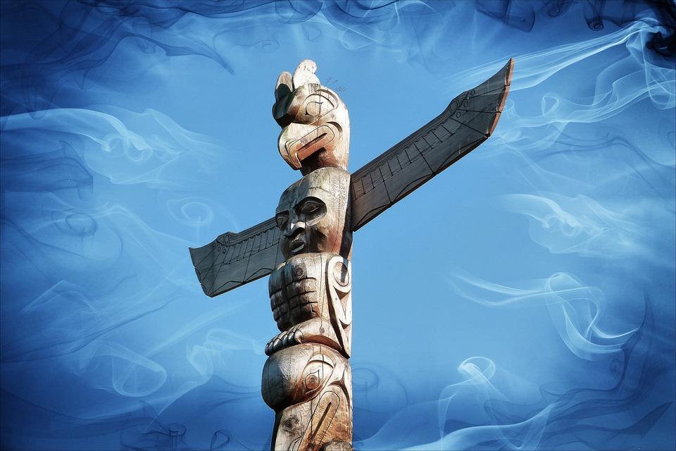 Totem Pole, Indian, Native, Culture, Symbol, Wood