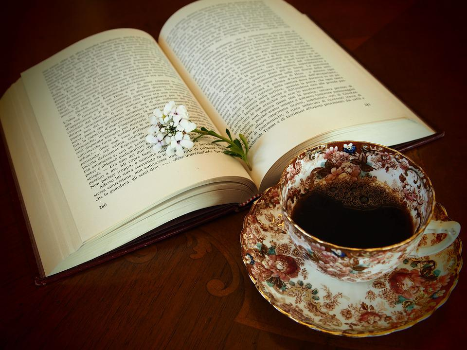 Coffee, Wood, Map, Book