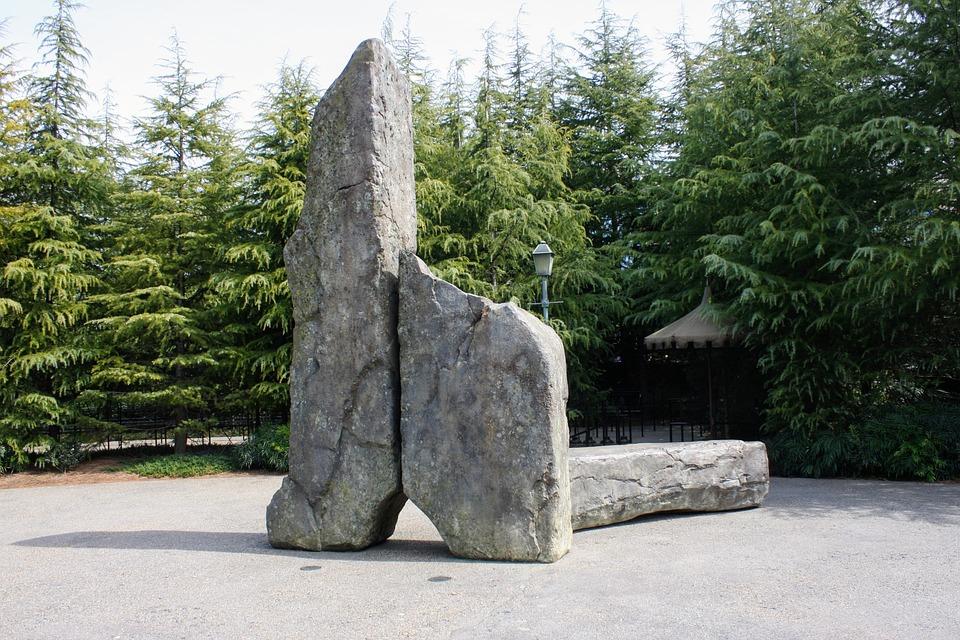 Wood, Natural, Park, Outdoors, Landscape, Stone