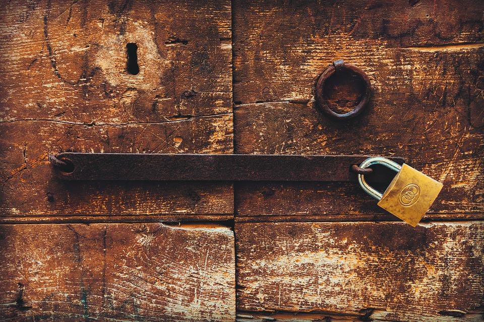 Wood, Door, Architecture, Old, Vintage, Closed, Texture
