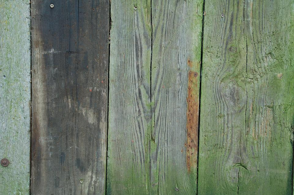 Wood, Old, Pattern, Planking, Green, Fittings, Texture