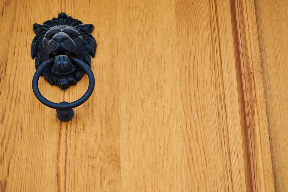 Door, Knob, Wood, Daniel, Black, Detail, Decor, Pattern