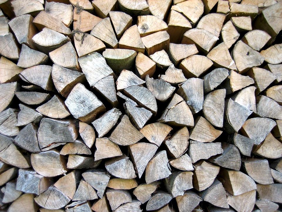 Wood, Wood Pile, Firewood, Combs Thread Cutting