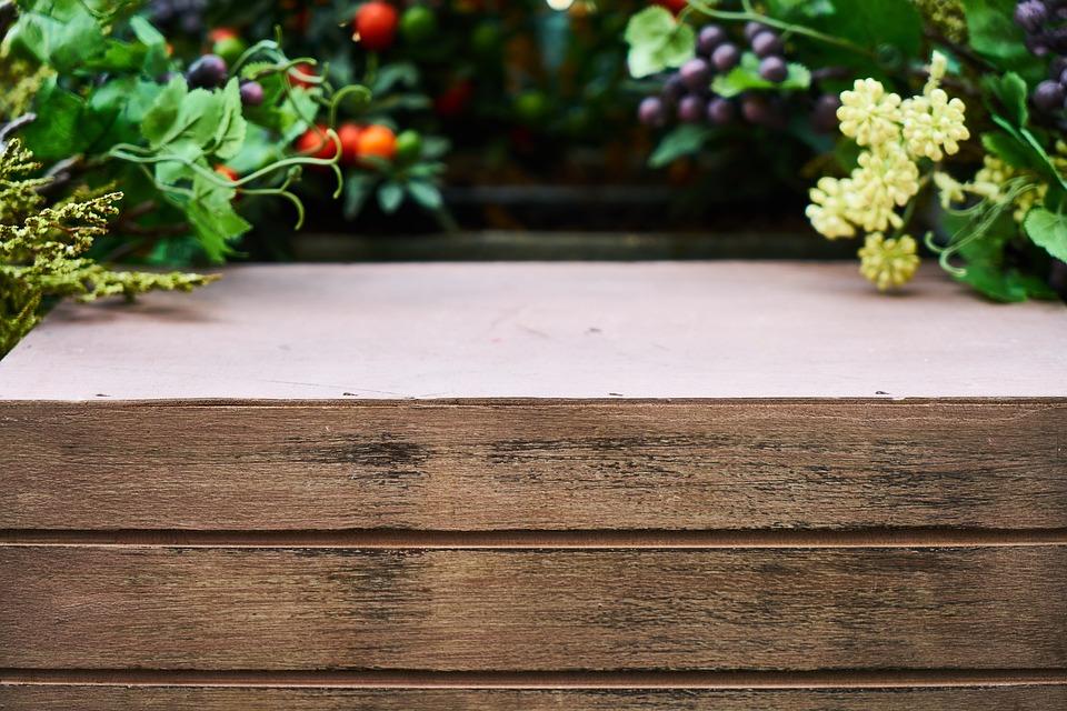 Wood-fibre Boards, Wood, Plant, Garden, Spring, Flower