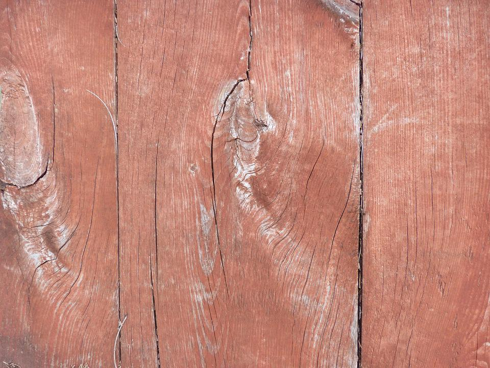 Wood, Background, Red, Texture, Old Wood, Worn