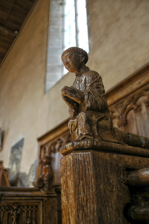 Church, Carving, Sculpture, Wood, Religion, Figure