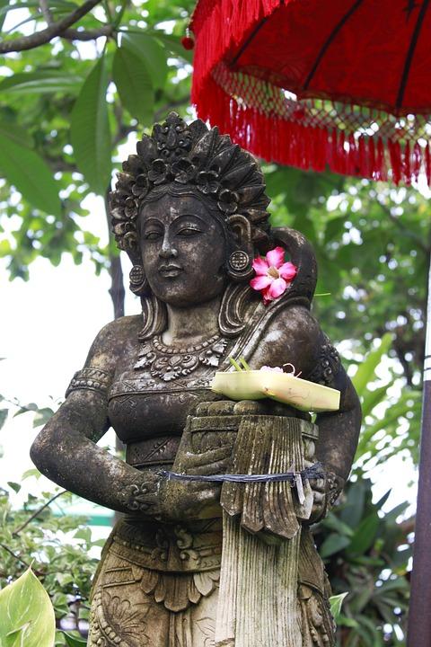 Sculpture, Statue, Tree, Religion, Wood, Indonesia