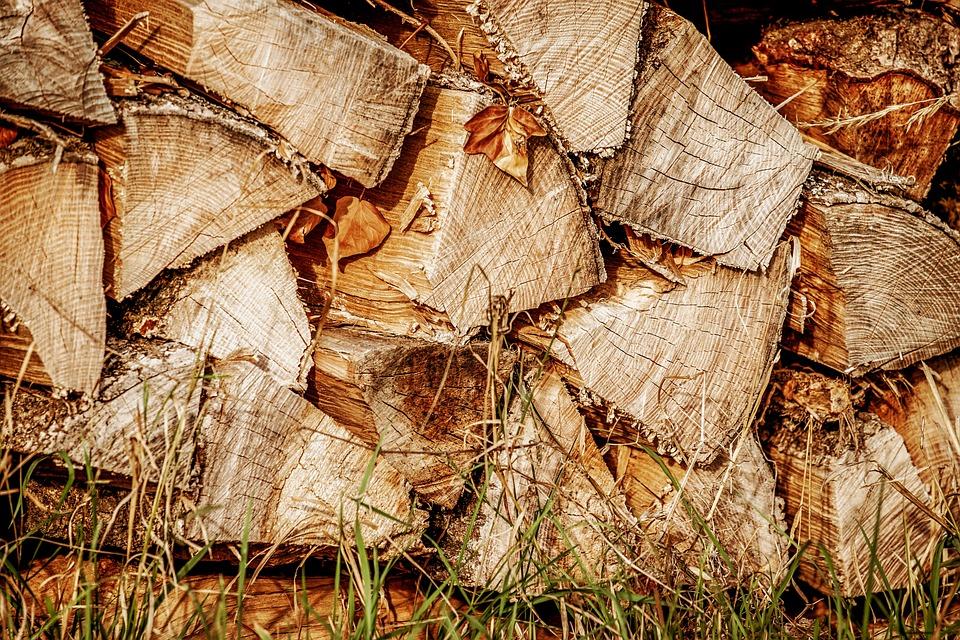 Wood, Logs, Log, Stacked Up, Timber, Firewood, Storage