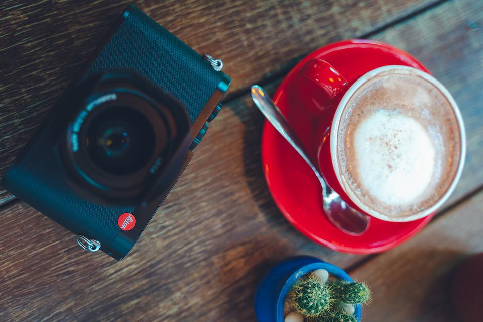 Hot, Coffee, Espresso, Table, Cup, Background, Wood