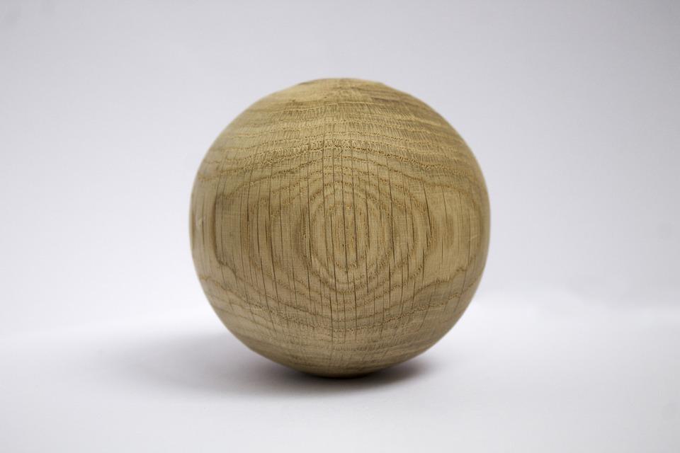 Ball, Circle, Tree, Texture, Crack, Material, Wood