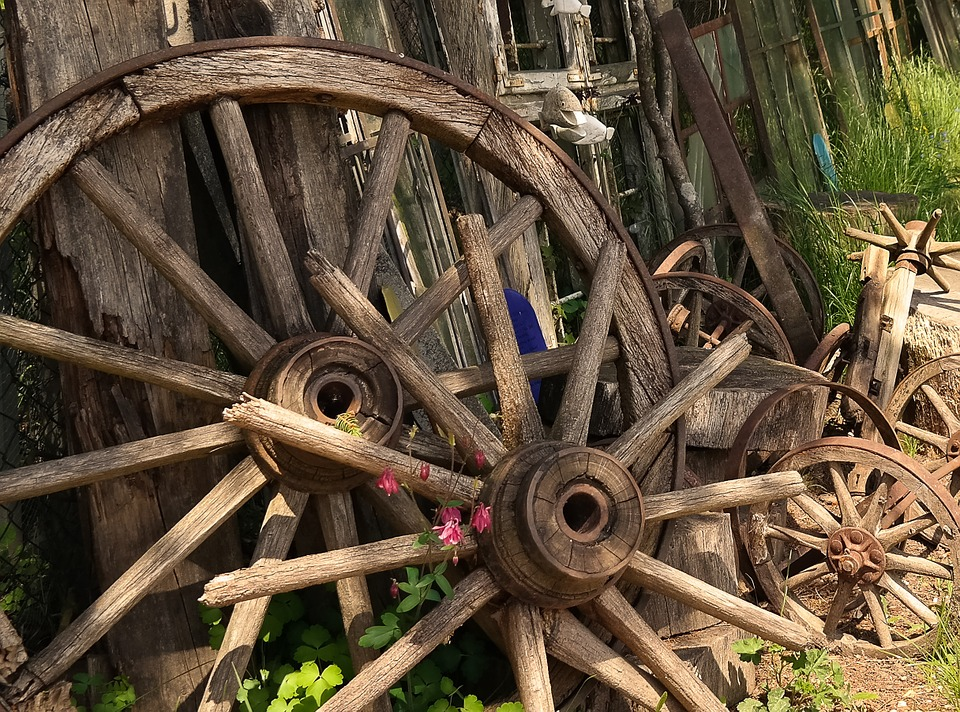 Wheel, Wood, Wooden Wheel, Old Wheels, Old