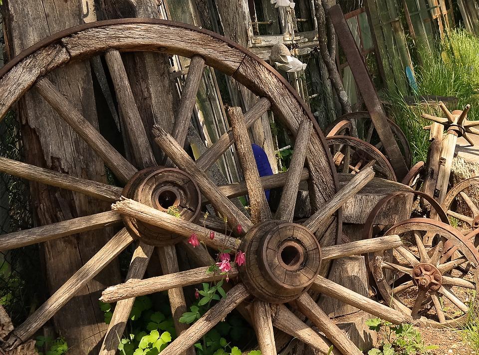 Wheel, Wood, Wooden Wheel, Old Wheels, Old