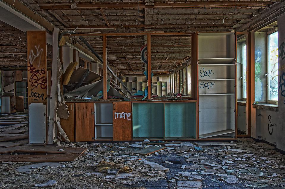 Wood, Within, Home, Architecture, Leave, Old, Ruin