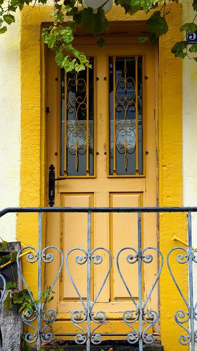 Front Door, Old, Wood, House Entrance, Wooden Door