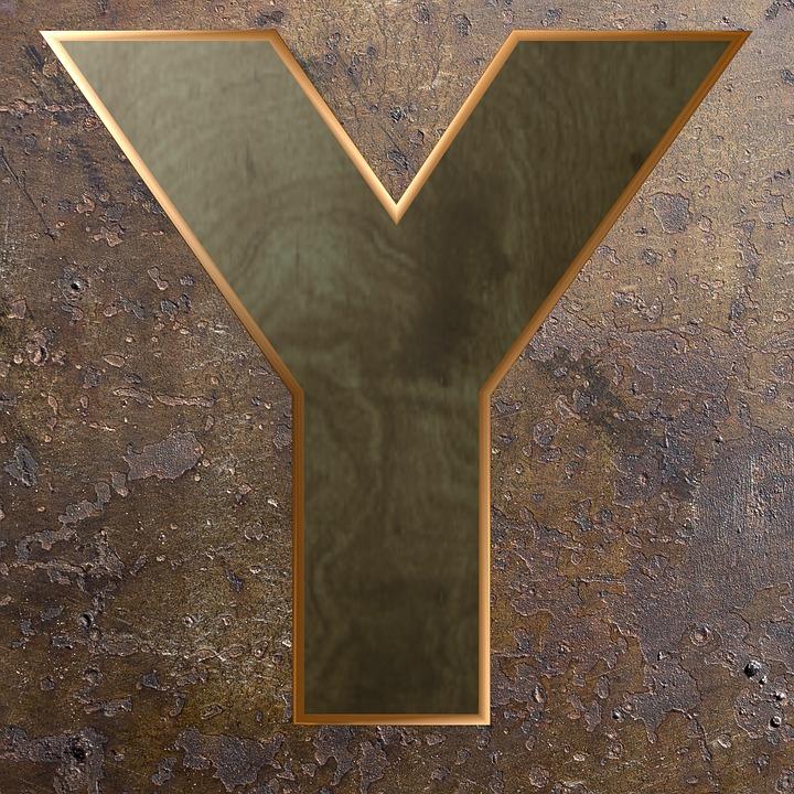 Wooden Letter, Wood, Metal, Alphabet, Letter, Wooden