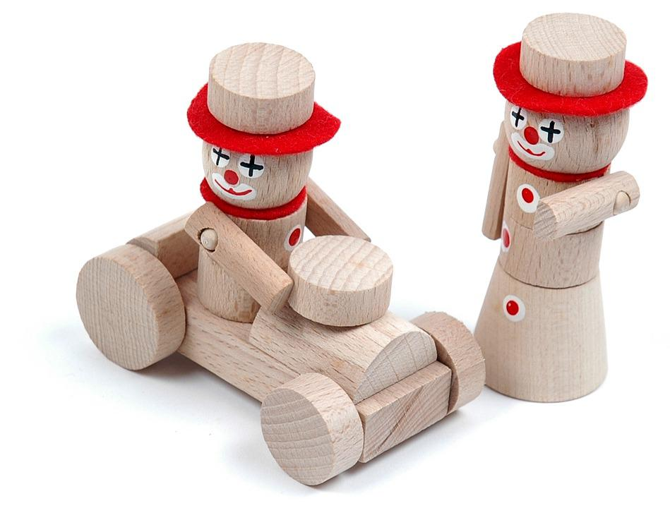 Vintage, Wood, Wooden Toys, Toys