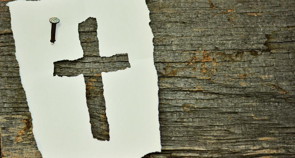 Free Photo Wood Woods Old Nail Cross Symbol Christianity Max Pixel