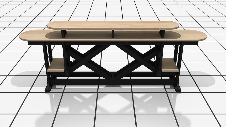 Furniture, Wood, Decoration, Workshop, Work Table