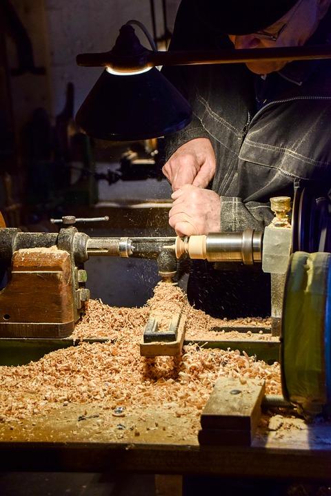 Wood, Drechsler, Craft, Woodworking, Workshop