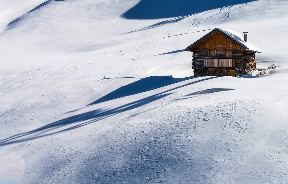 Italy, Cabin, Log, Wood, Wooden, Alone, Isolated